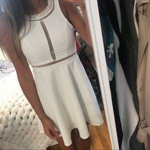 Monteau White Dress